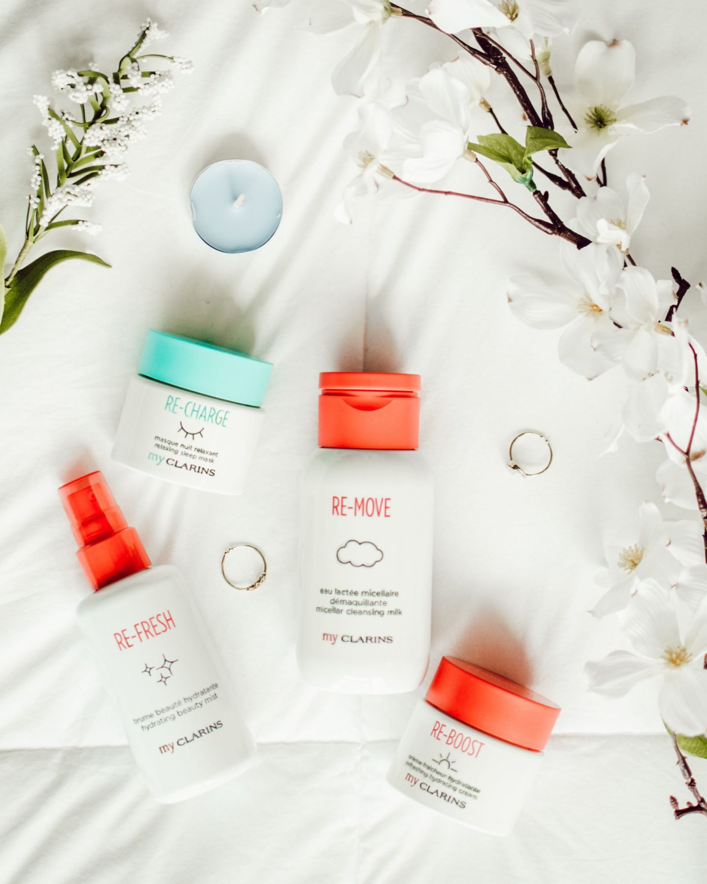 Skincare Routine with My Clarins