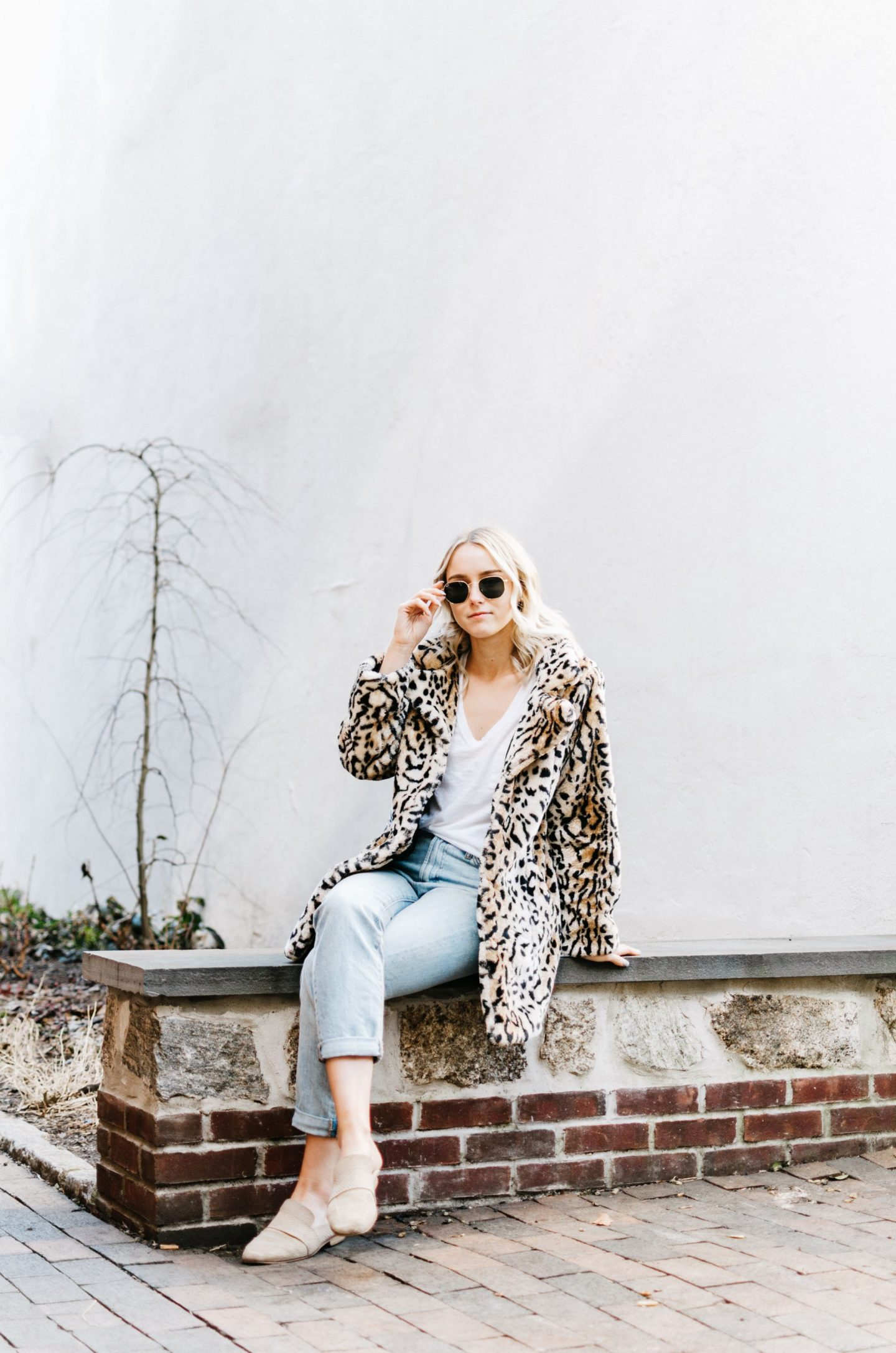 Spring Transition – Leopard Coat